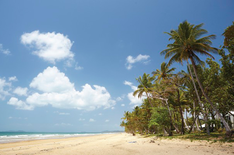 Mission Beach on the Coral Sea, Queensland