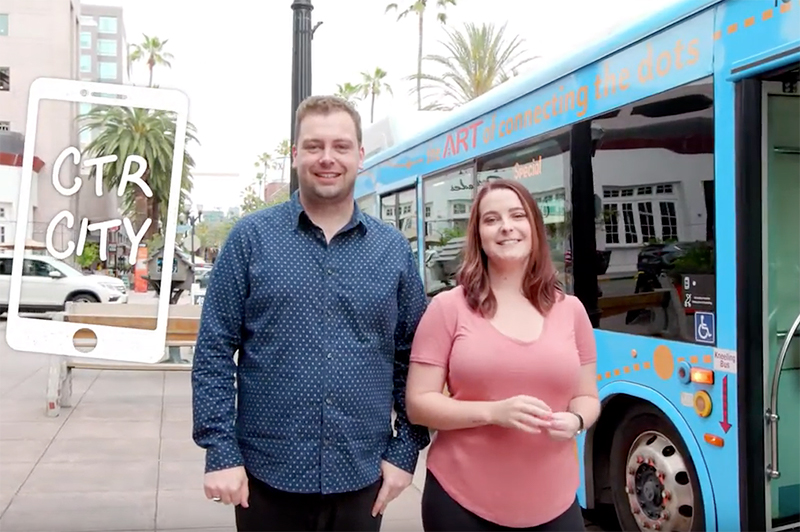 how to get around Anaheim - transport app