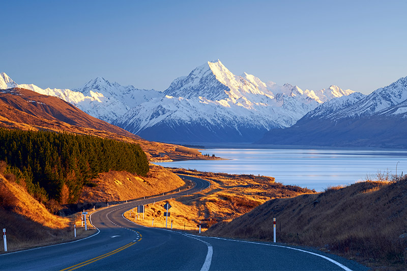 open road new zealand south island