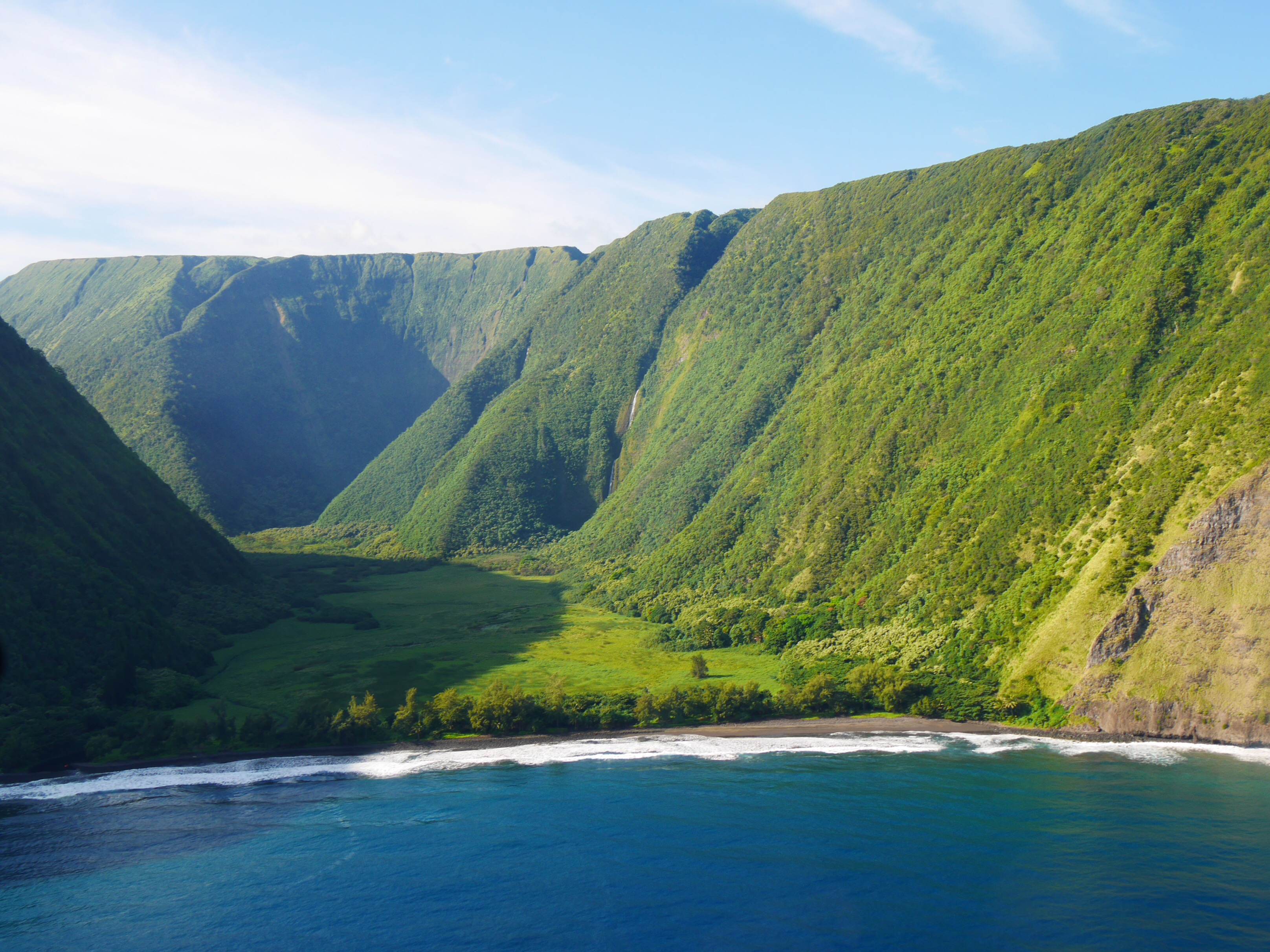 Rainforests and rugged coastline of the Big Island