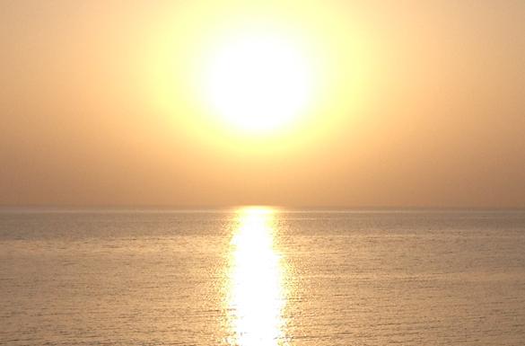 Sunrise on Anzac Cove