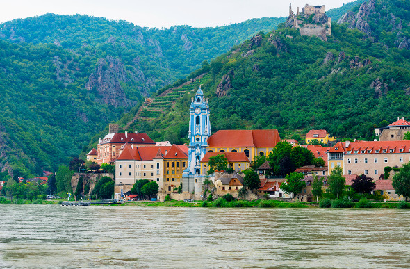The picturesque town of Durnstein.