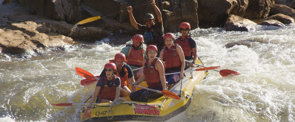 white water rafting barron falls tropical north queensland