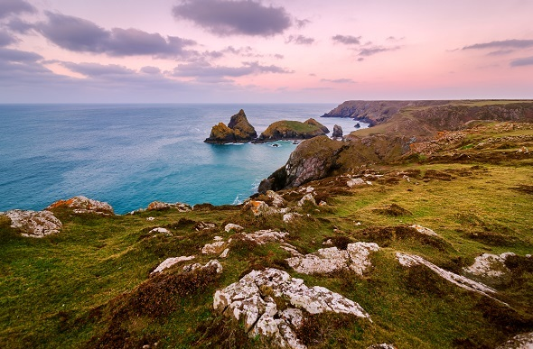 Kynance cove uk