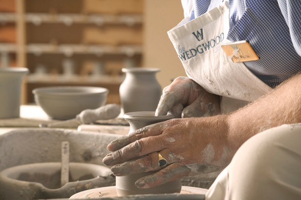 potter at wedgewood