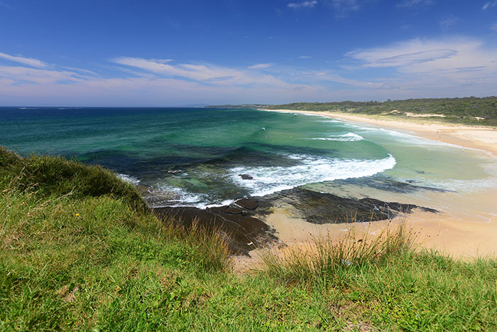 Racecourse Beach Ulladulla NSW