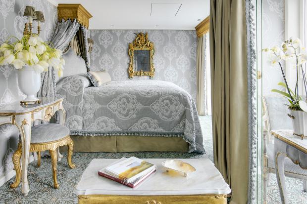 Suite interiors on a Uniworld ship