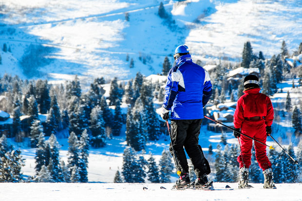 The Greatest Snow on Earth at Utah's Deer Valley.