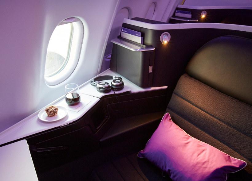 virgin australia upper class cabin
