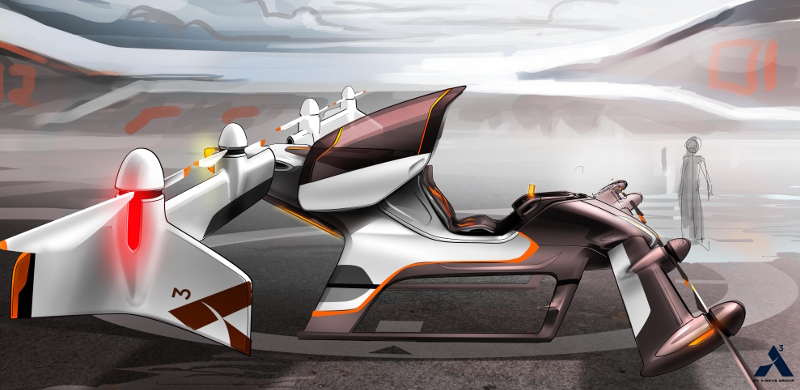 An artist's impression of the Vahana project. Image: Airbus