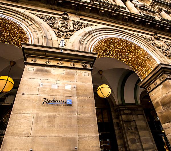 Radisson Blu hotel in Manchester