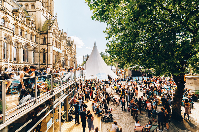 Manchester International Festival, Festival Square