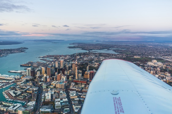 View Brisbane to Auckland