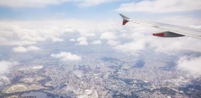 Gold Coast to Sydney Plane View