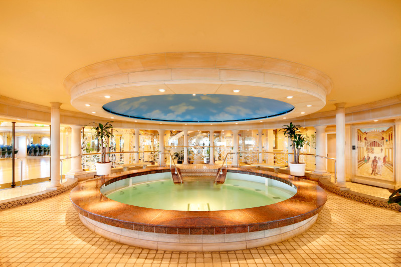 The Vitality Spa on board Voyager of the Seas.