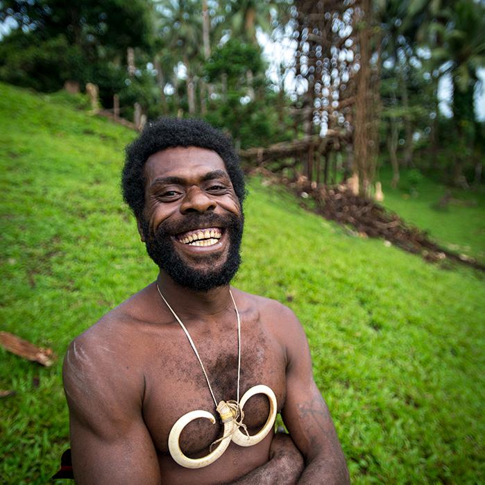 Land diving in Vanuatu