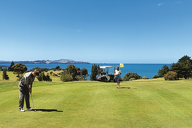 Waitangi Golf Club, New Zealand's North Island