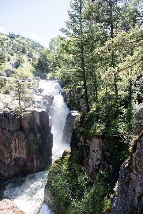 waterfall bighorn mountains wyoming