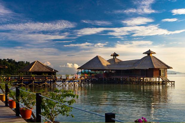 Gayana Eco Resort in Malaysia.