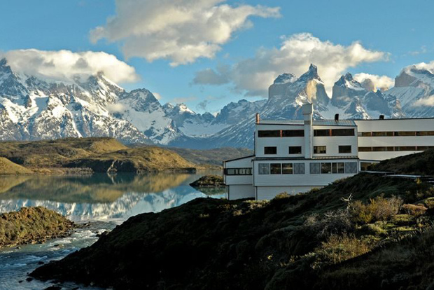 The explora Patagonia hotel in Chile.