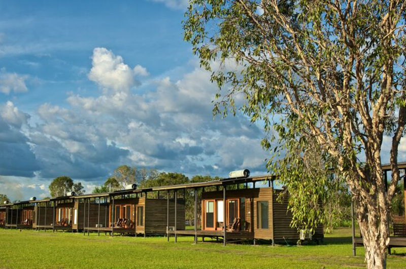 wildman wilderness lodge eco lodges nt