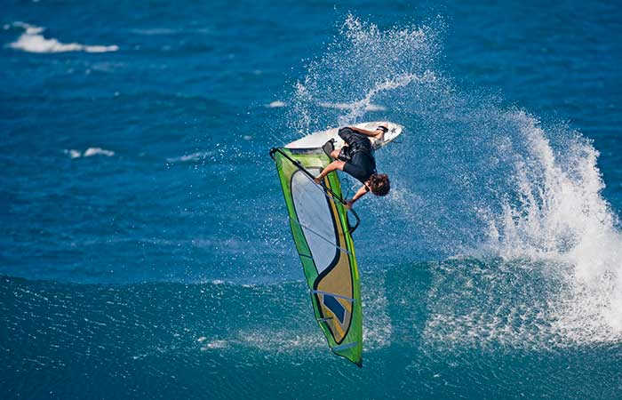 Windsurfing - top things to do in Hawaii