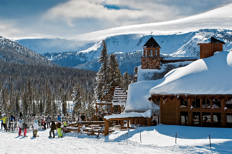 Mountain restaurants at Winter Park, Colorado