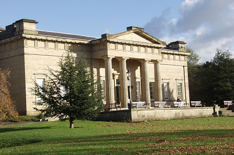 The exterior of Yorkshire Museum and Gardens.