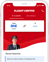 <h3>For fast and easy bookings plus hot deals at your fingertips, download the Flight Centre App</h3>