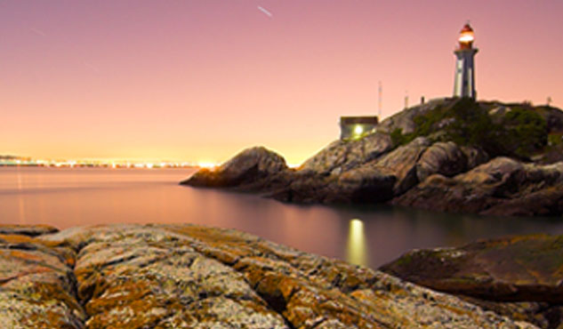 Daybreak at Lighthouse Park